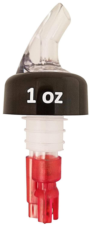 Winco 23751 Benchmark USA Exact 1 oz. Measured Pourers, 2/Pack
