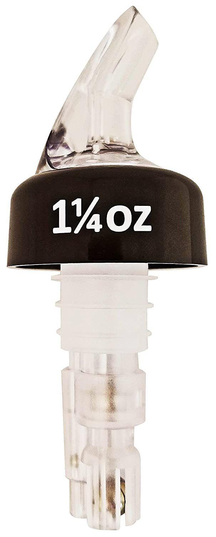 Winco 23771 Benchmark USA Exact 1 1/4 oz. Measured Pourers, 2/Pack