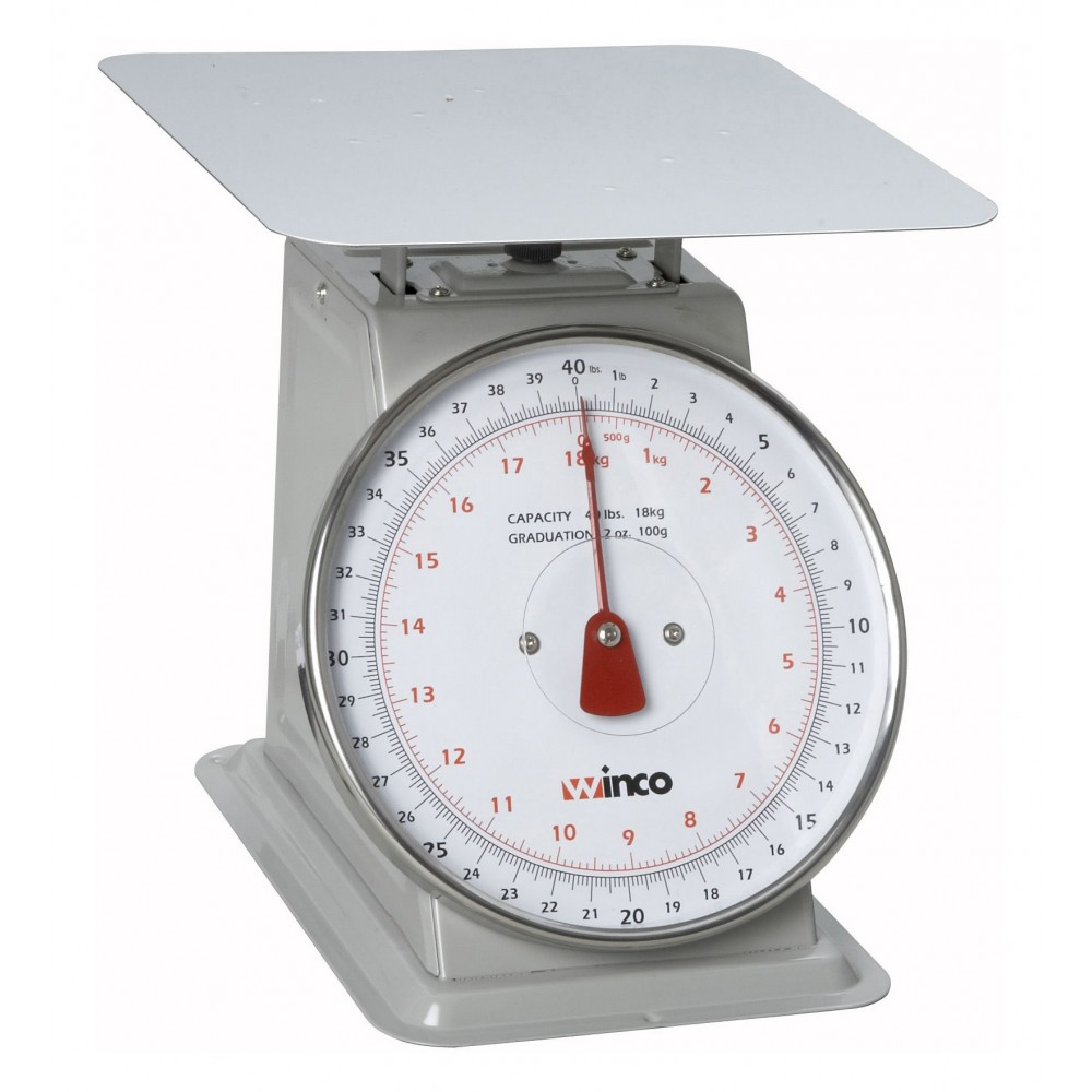 Winco SCAL-840 Receiving Scale 40 Lb.