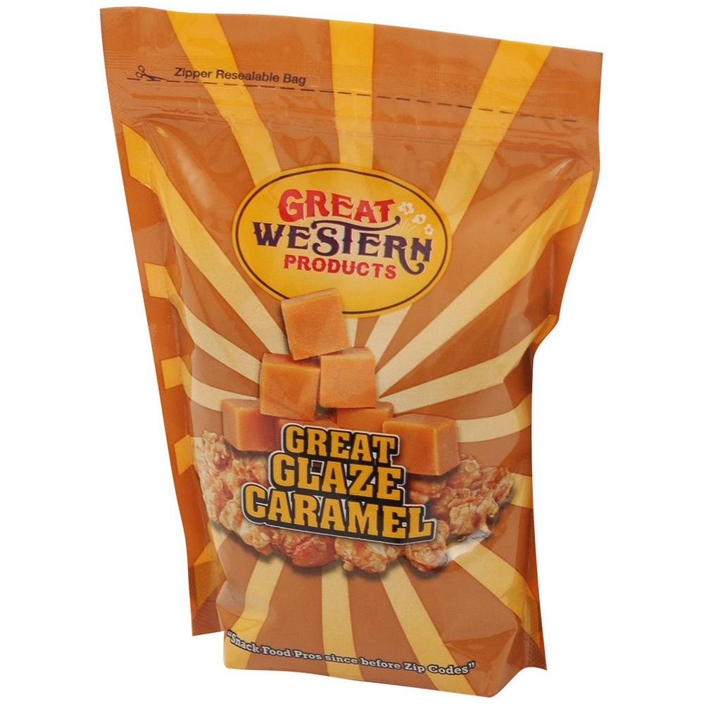 Winco 40021 Benchmark USA Caramel Popcorn Glaze 28 oz.