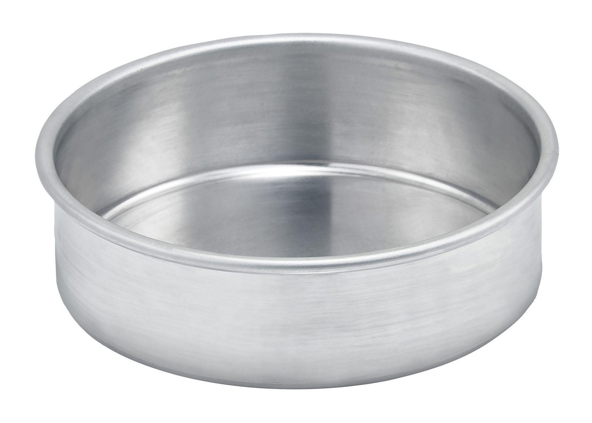 "Winco ACP-062 Aluminum Layer Cake Pan, 6"" x 2"""