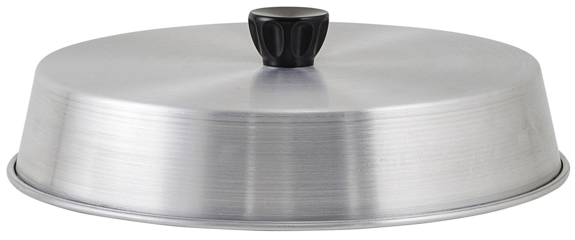 """Winco ADBC-10 Aluminum 10"""" Basting Cover"""