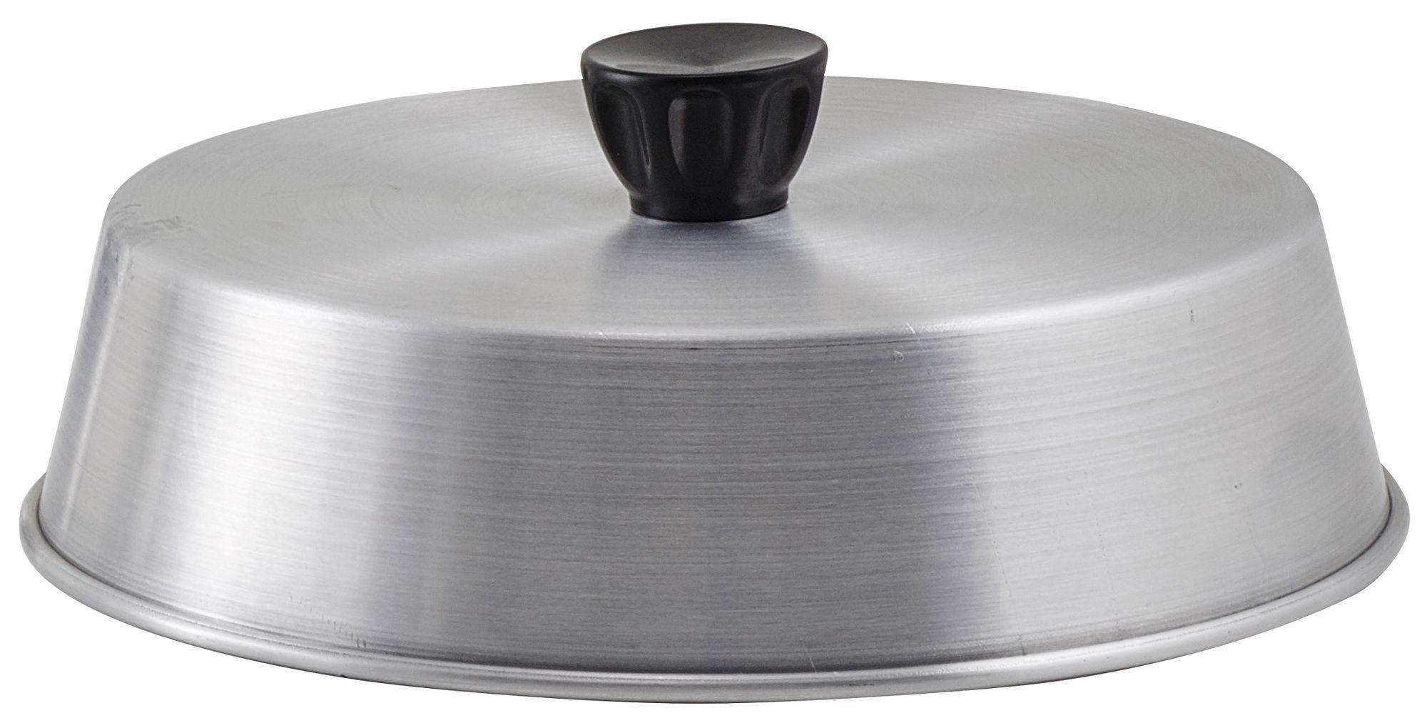 """Winco ADBC-8 Aluminum 8"""" Basting Cover"""