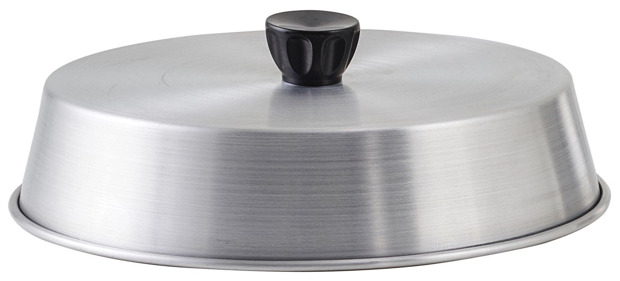 """Winco ADBC-9 Aluminum 9"""" Basting Cover"""