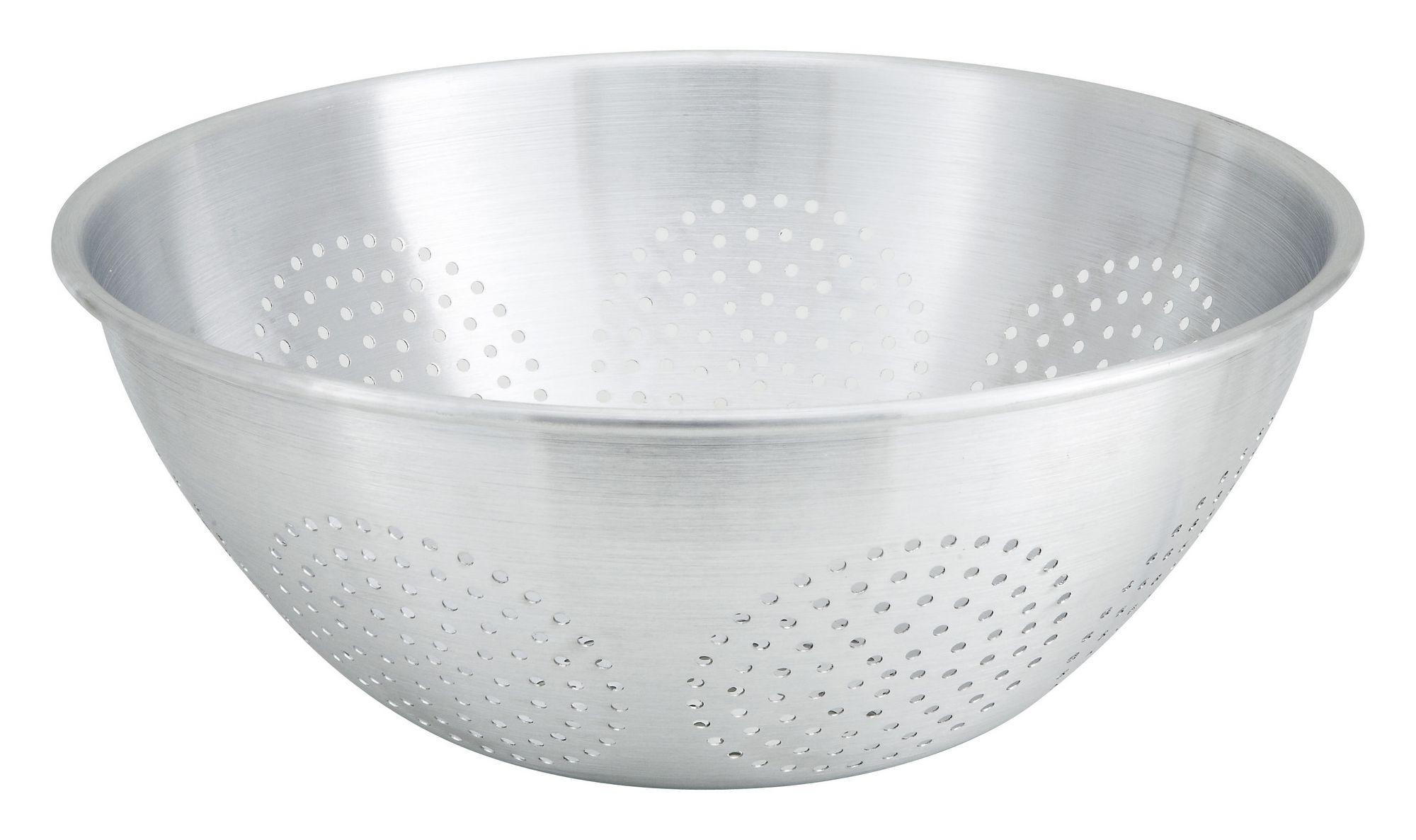 Winco ALO-12 Aluminum 12 Qt. Chinese Colander without Handle and Base