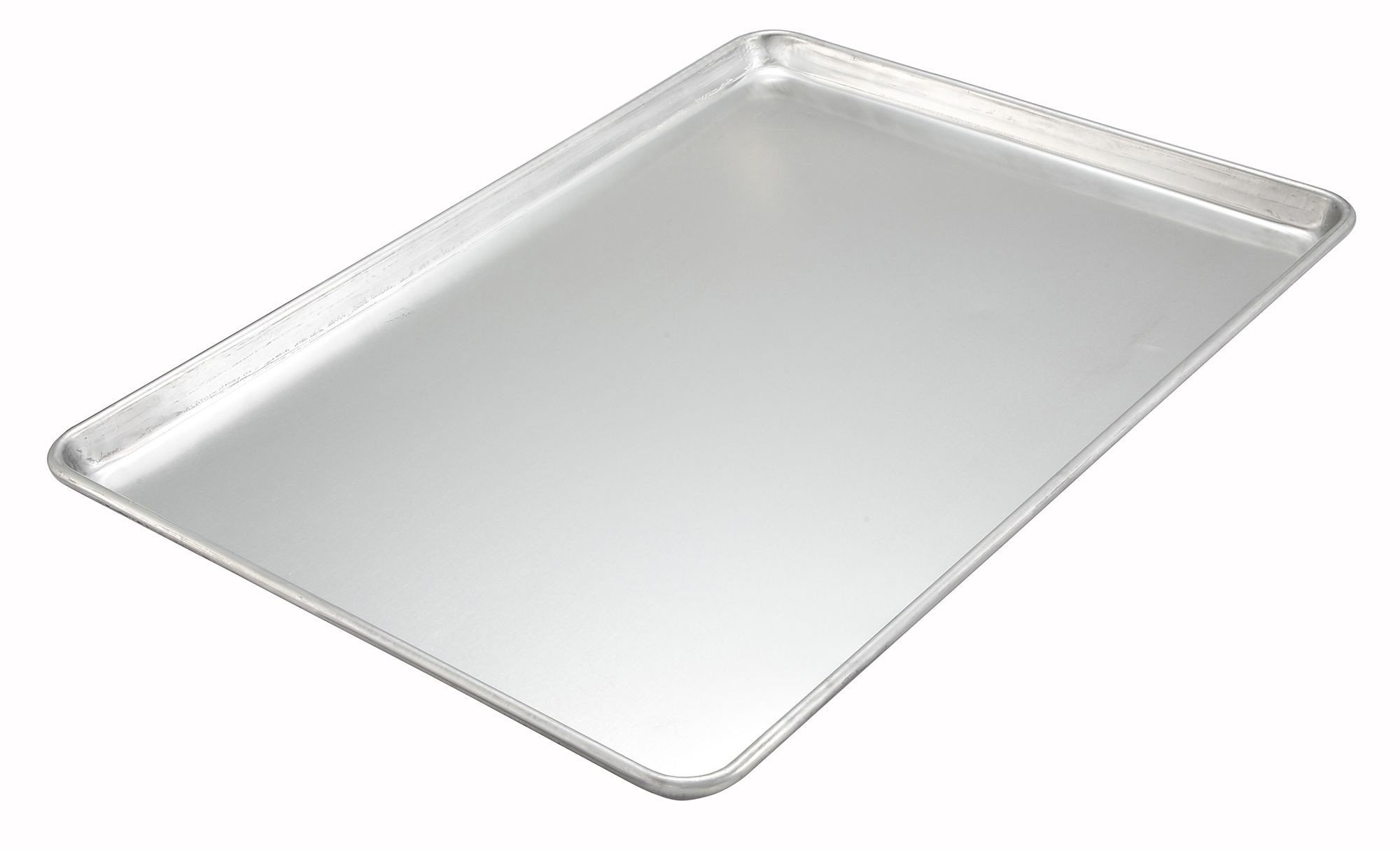"Winco ALXP-1813H 13"" x 18"" Aluminum 18 Gauge Sheet Pan"