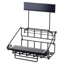 Winco APRK-2 Two Compartment Wire Airpot Rack