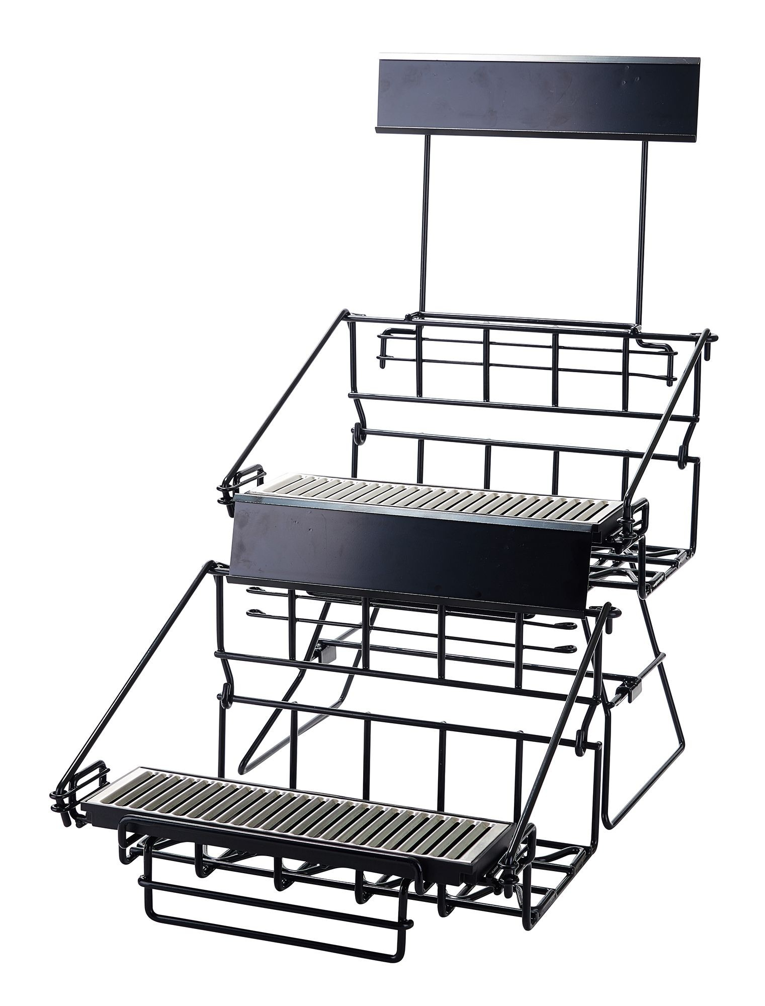 Winco APRK-4 Four Compartment Wire Airpot Rack