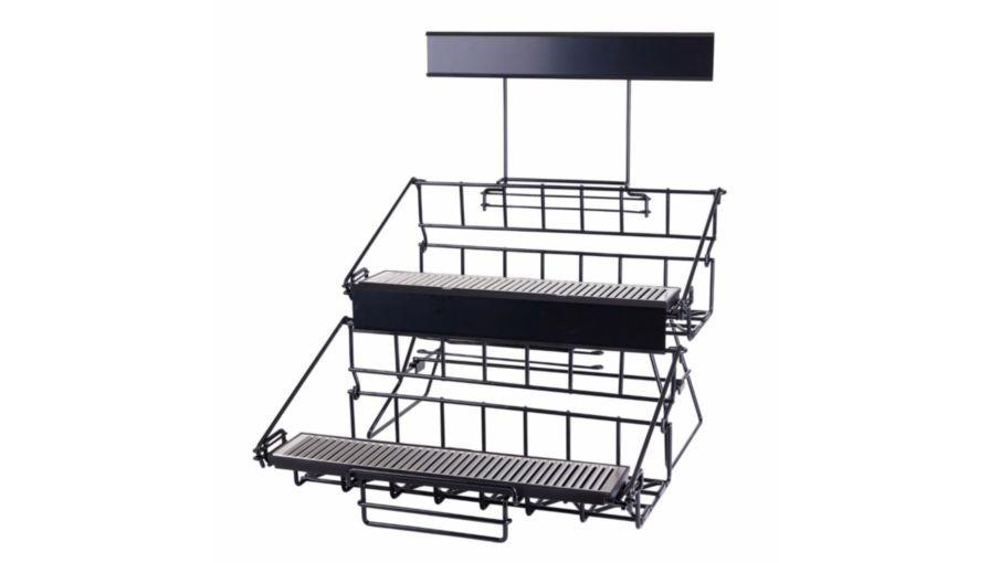 Winco APRK-6 Six Compartment Wire Airpot Rack