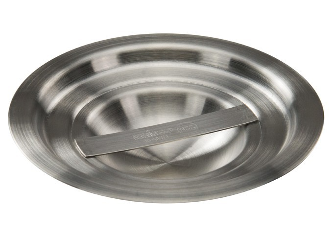 Winco BAMN-1.25C Stainless Steel Bain Marie Pot Cover 1.25 Qt.