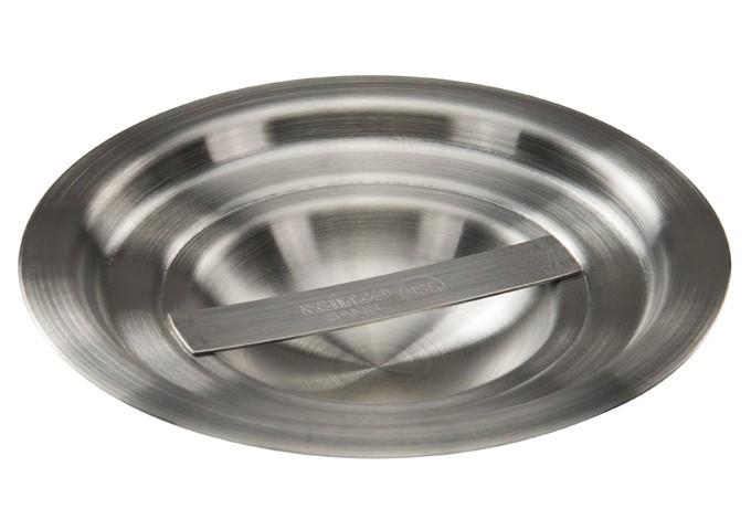 Winco BAMN-1.5C Stainless Steel Bain Marie Pot Cover 1.5 Qt.