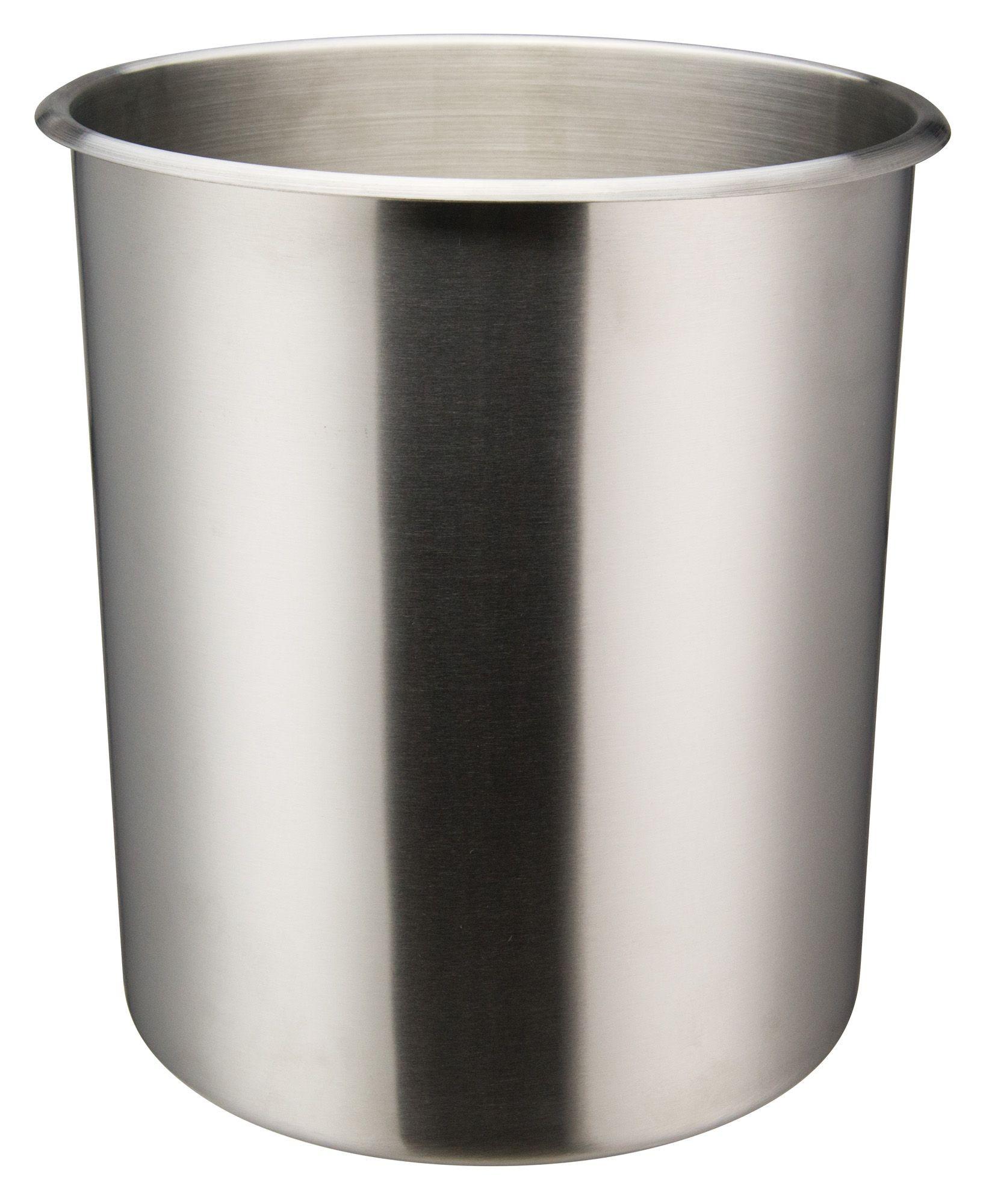 Winco BAMN-12 Stainless Steel Bain Marie Pot 12 Qt.