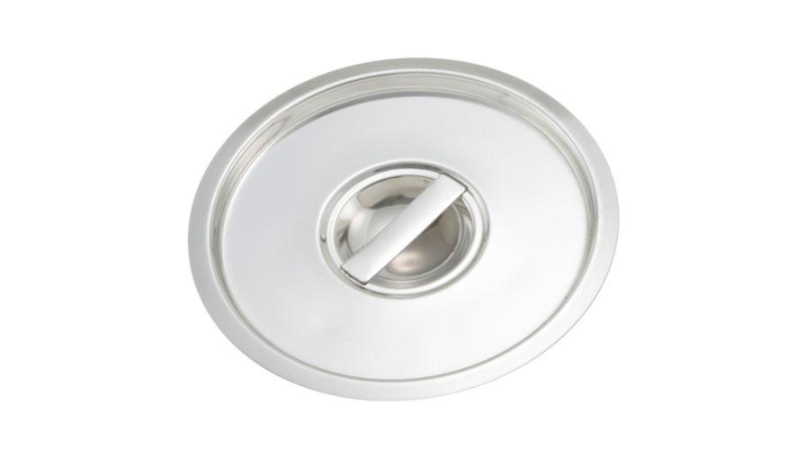 Winco BAMN-8.25C Stainless Steel Bain Marie Pot Cover 8.25 Qt.