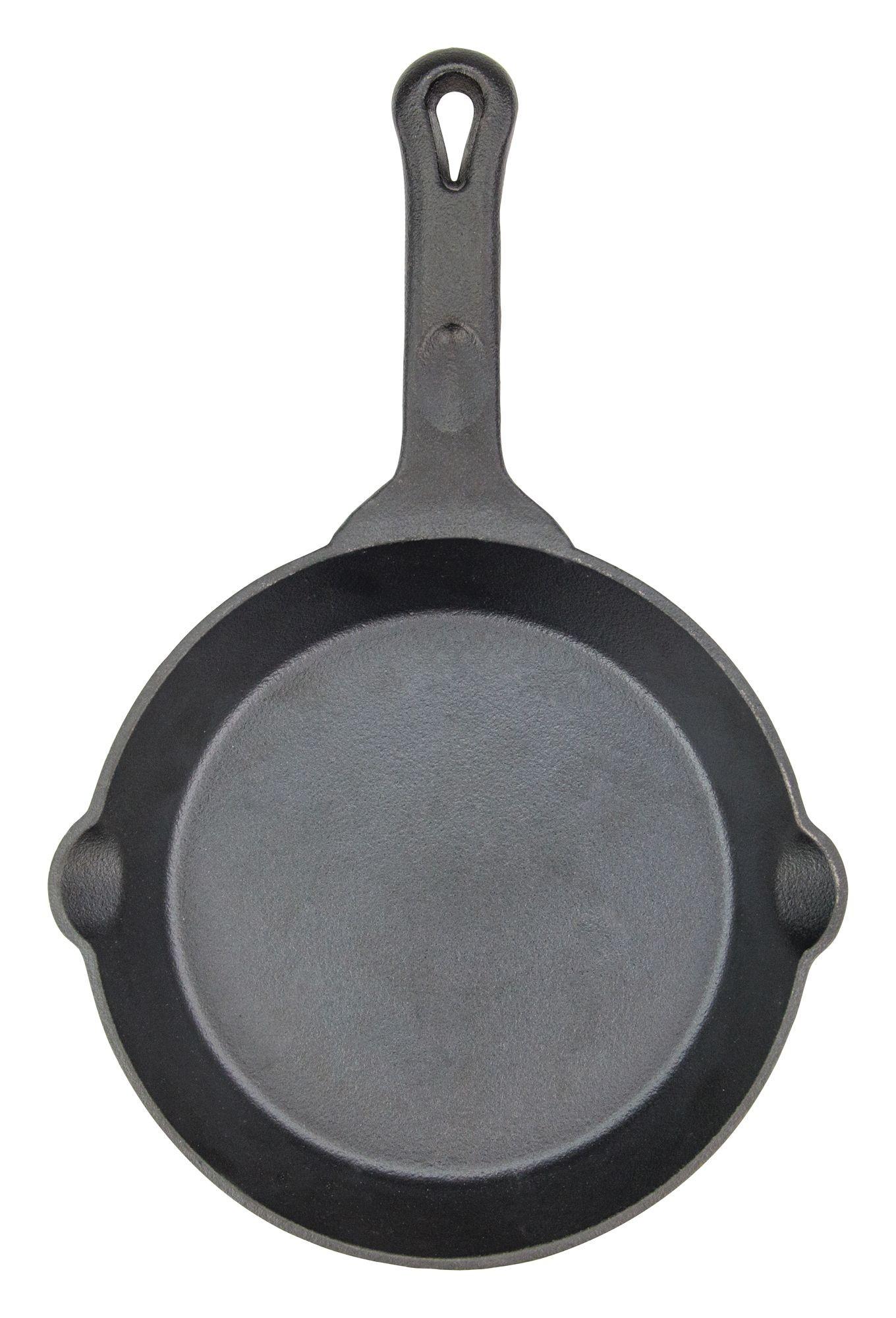 """Winco CAST-8 FireIron 8"""" Pre-Seasoned Cast Iron Skillet"""