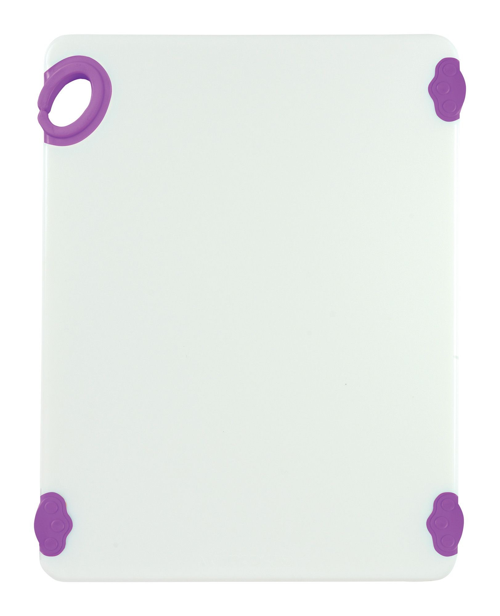 "Winco CBN-1520PP Purple StatikBoard Cutting Board with Hook, 15"" x 20"" x 1/2"""