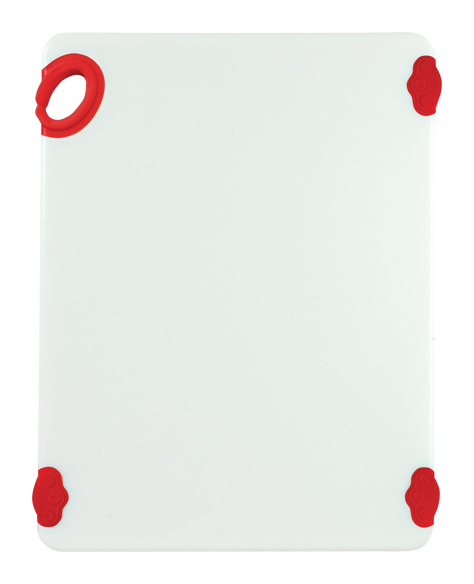 """Winco CBN-1520RD Red StatikBoard Cutting Board with Hook, 15"""" x 20"""" x 1/2"""""""