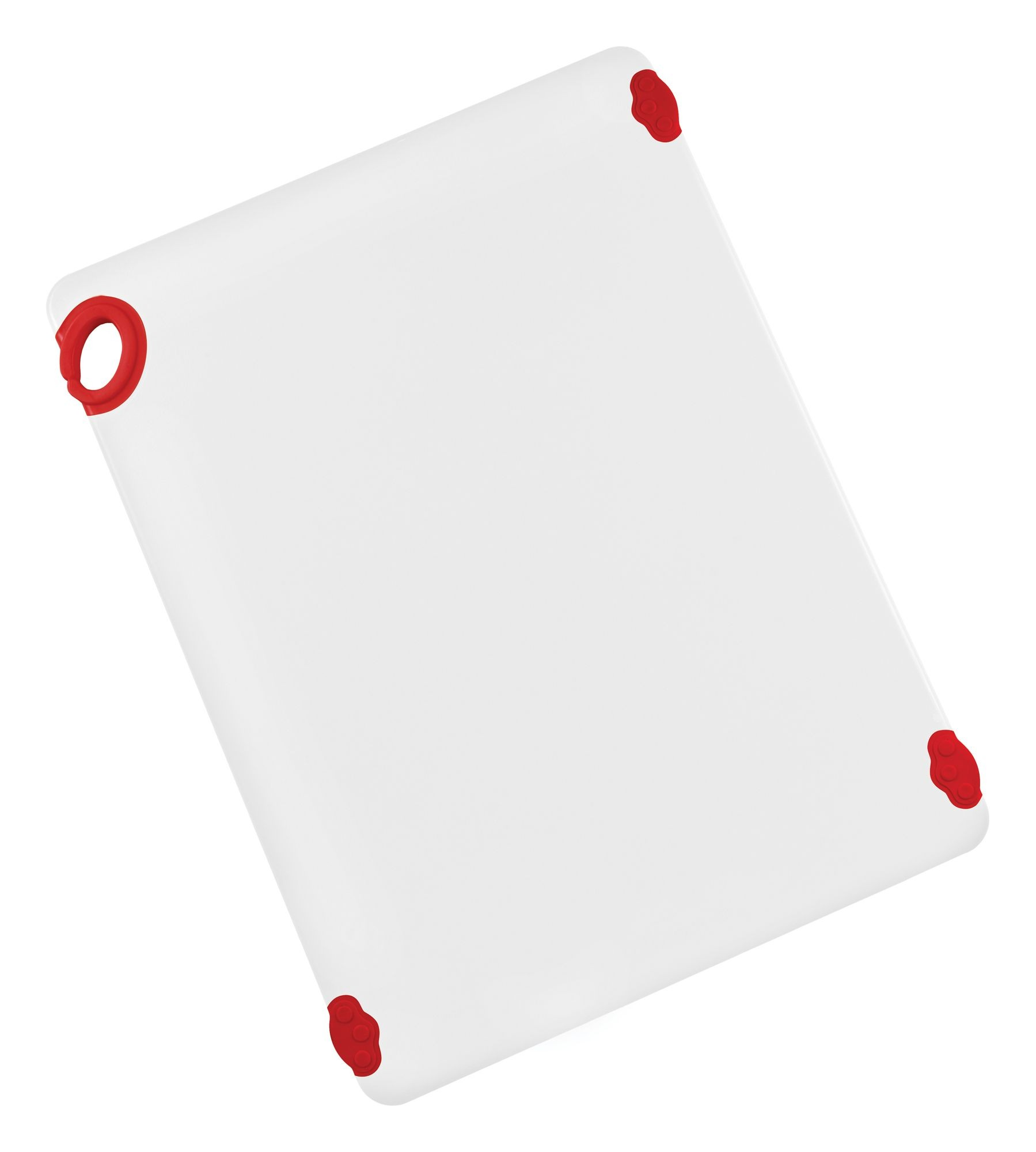 "Winco CBN-1824RD Red StatikBoard Cutting Board with Hook, 18"" x 24"" x 1/2"""