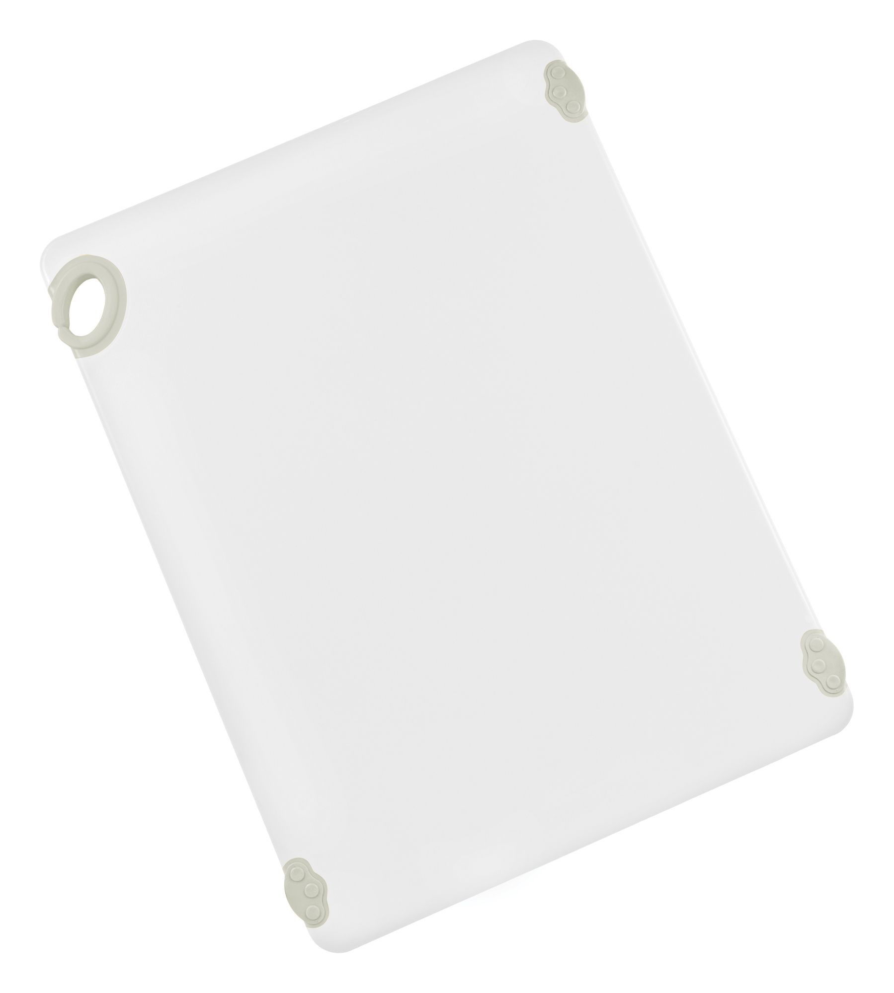 "Winco CBN-1824WT White StatikBoard Cutting Board with Hook, 18"" x 24"" x 1/2"""