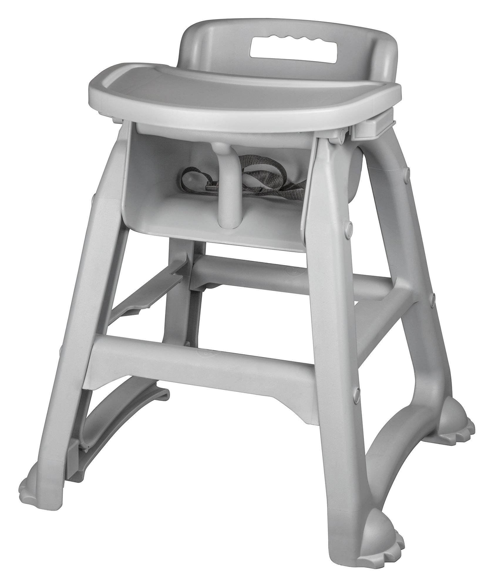 Winco CHH-25 High Chair with Tray, Plastic
