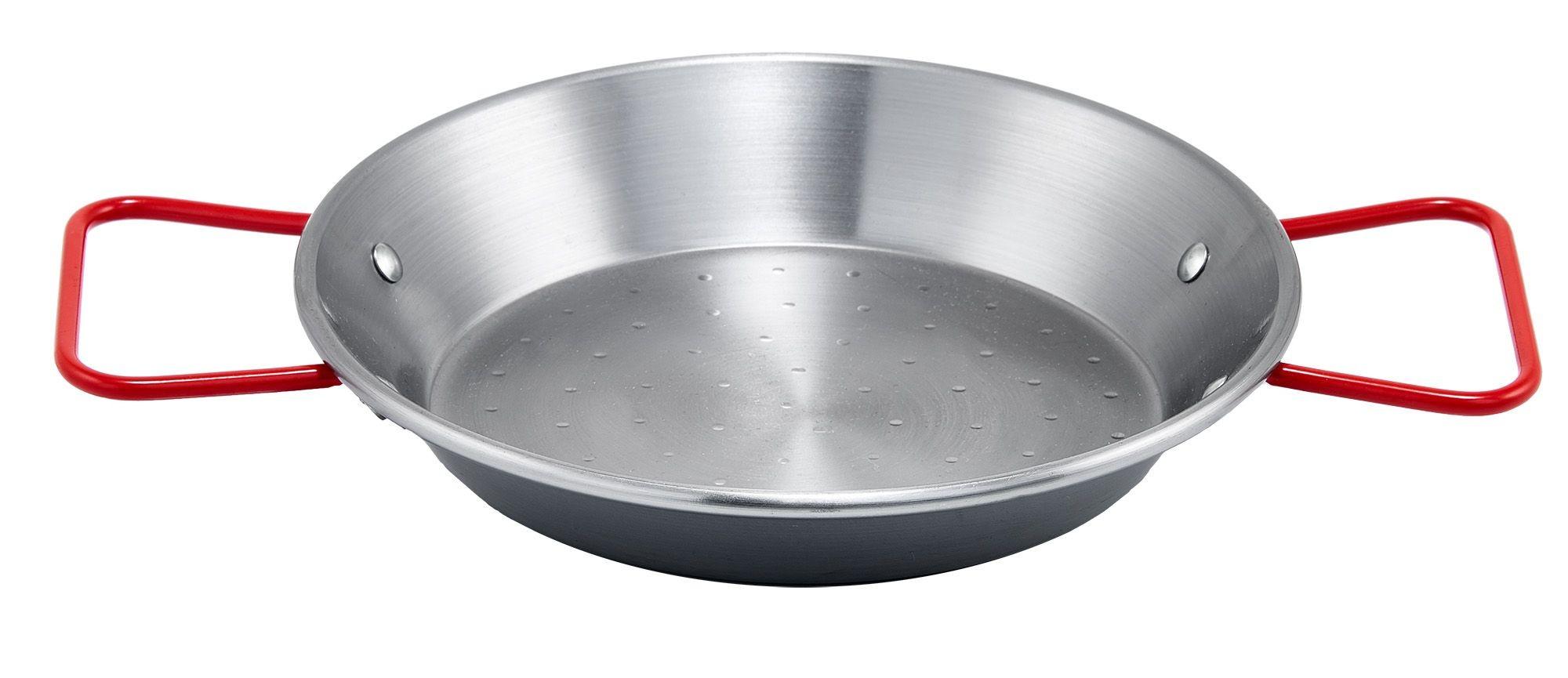 "Winco CSPP-11 Polished Carbon Steel 11"" Paella Pan"