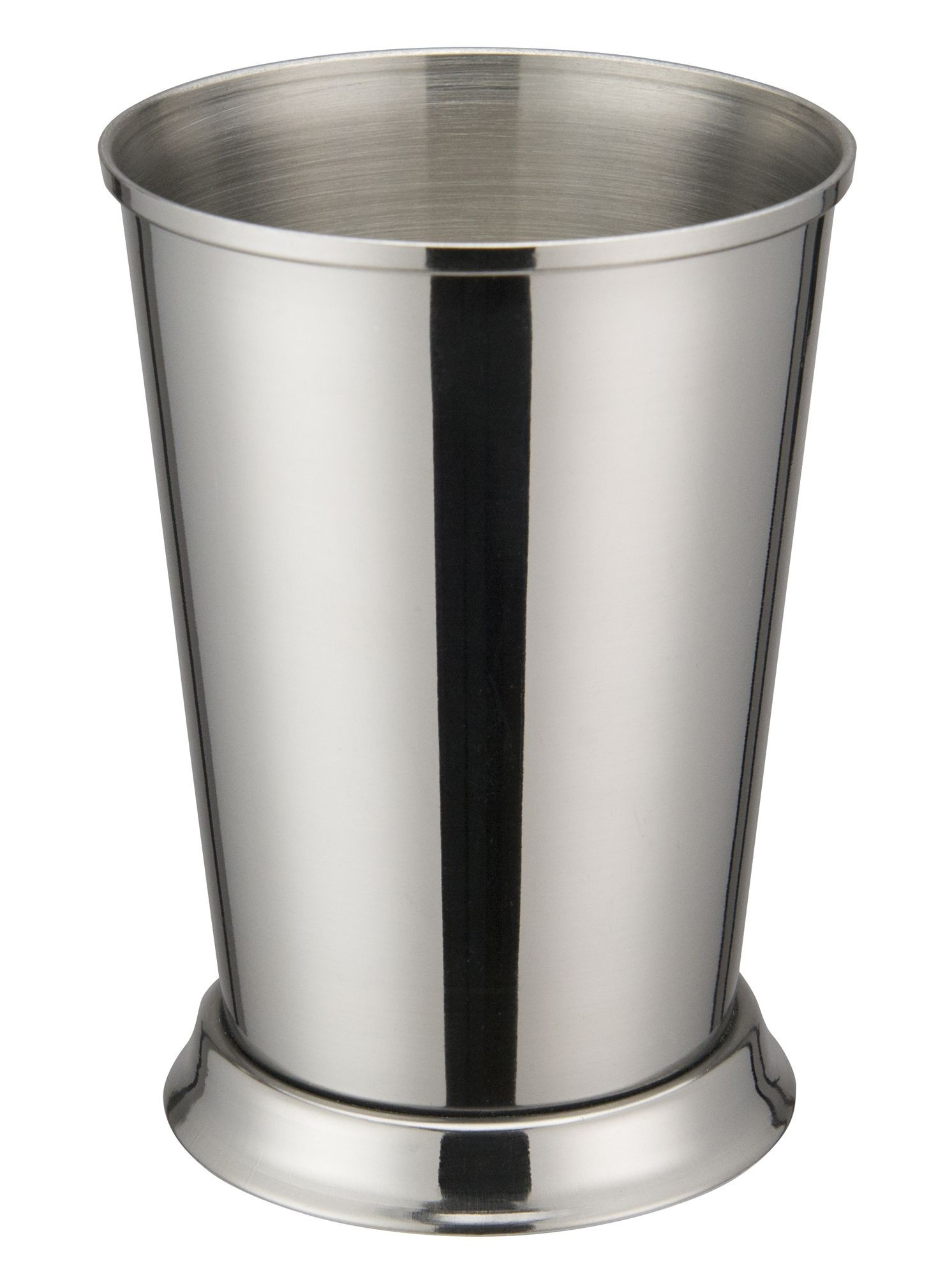 "Winco DDSE-102S Stainless Steel 3-3/8"" Dia x 4-3/4"" H Mint Julep Cup"