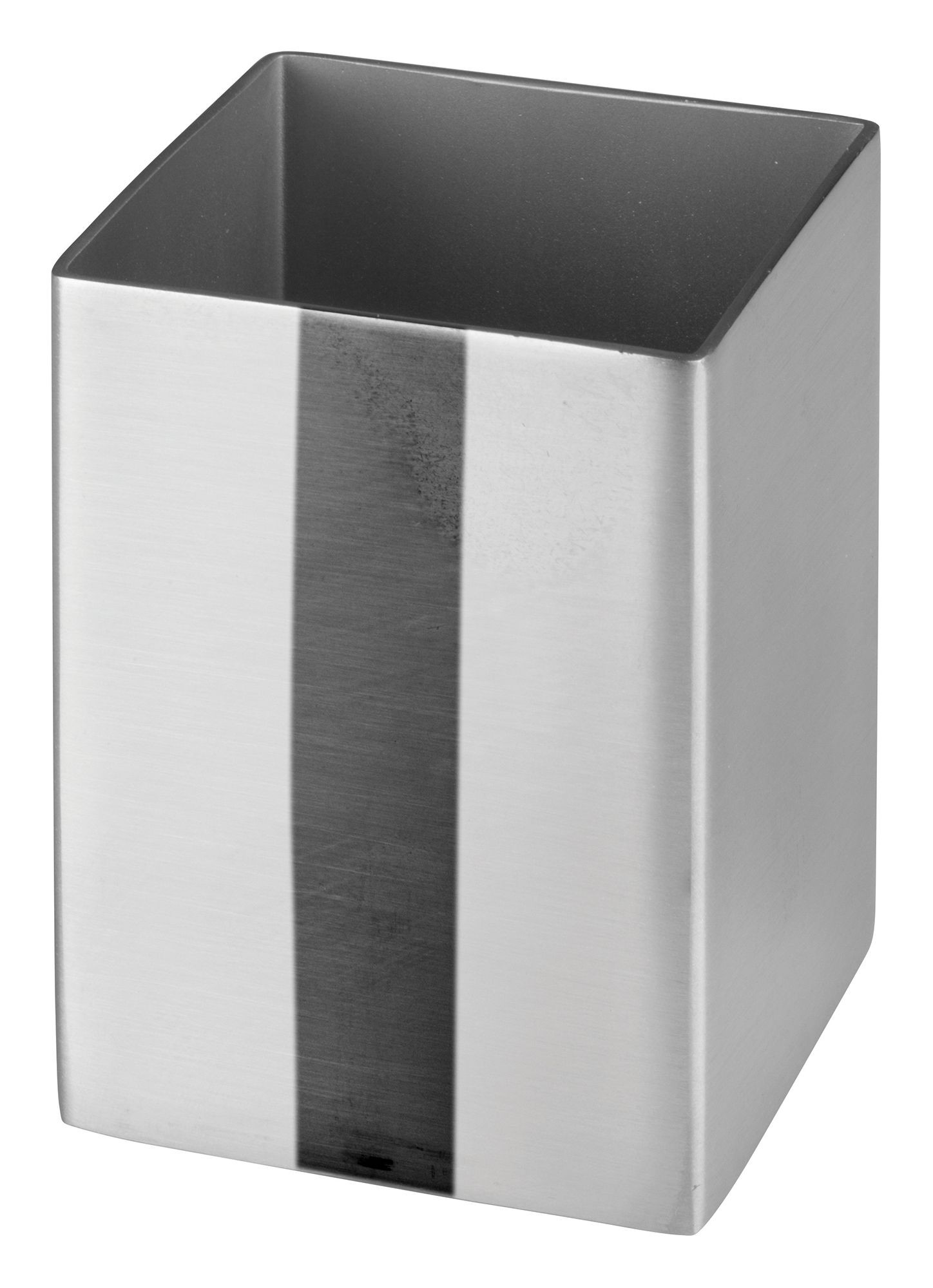 "Winco DDSG-102S Stainless Steel Square 1-3/4"" Sugar Packet Holder"