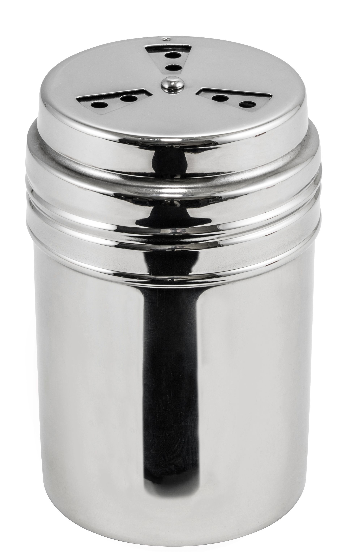 Winco DRG-8P Stainless Steel Adjustable 8 oz. Shaker / Dredge
