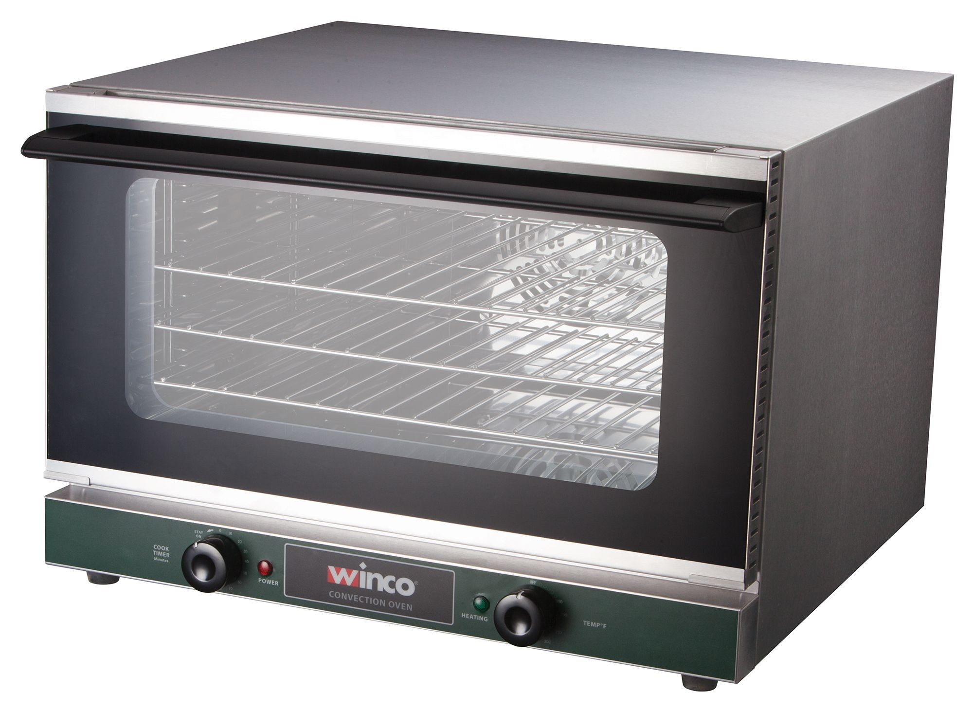 Winco ECO-500 Countertop Convection Oven, Half-Size