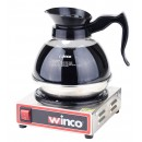 Winco ECW-1 Electric Coffee Warmer, Single Burner 120V, 200W