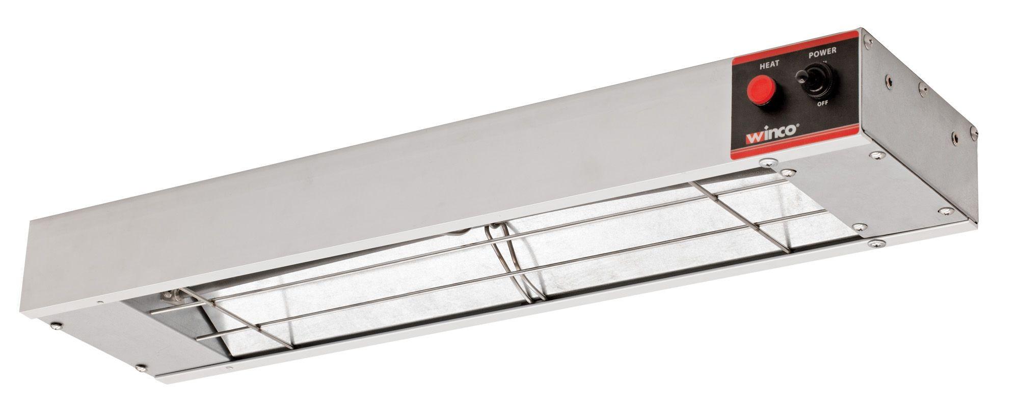 "Winco ESH-24 24"" Electric Infrared Strip Heater"