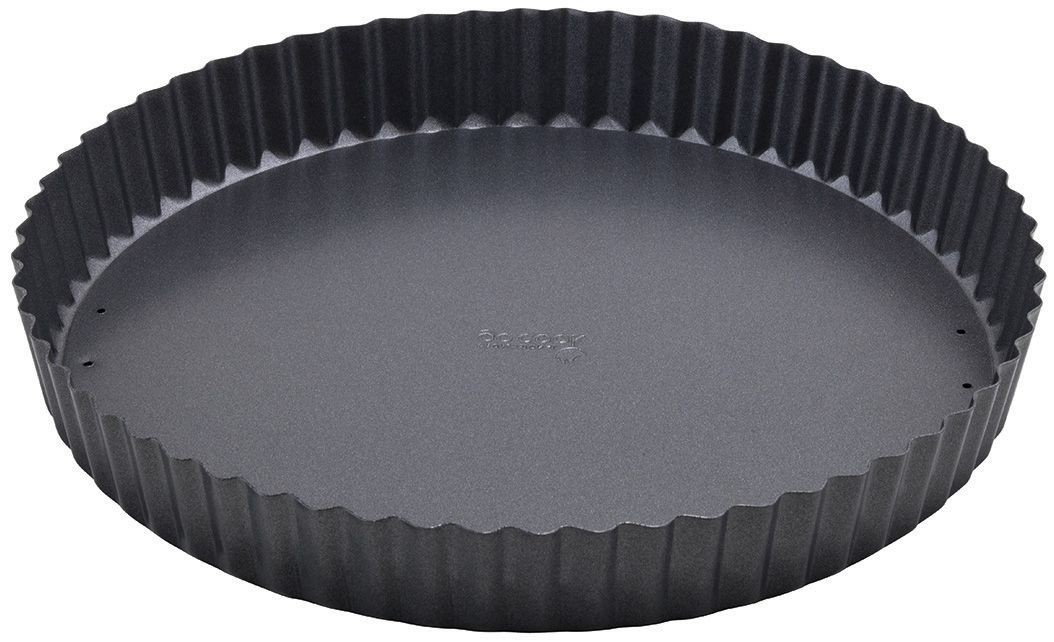 "Winco FQP-10 Carbon Steel Non-Stick 10"" Quiche Pan"