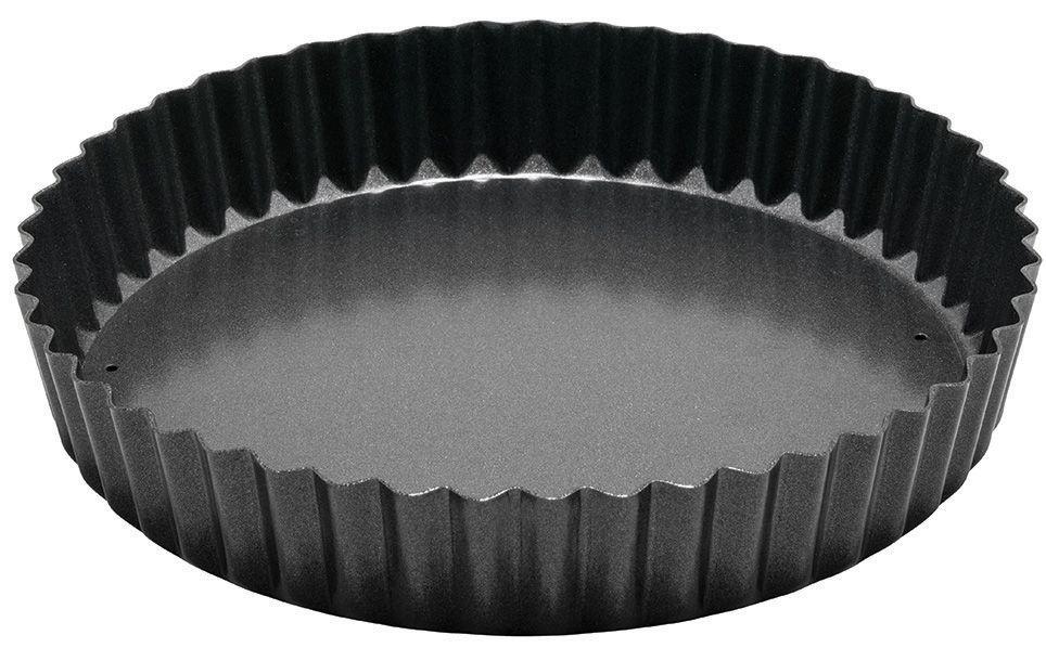 "Winco FQP-8 Carbon Steel Non-Stick 8"" Quiche Pan"