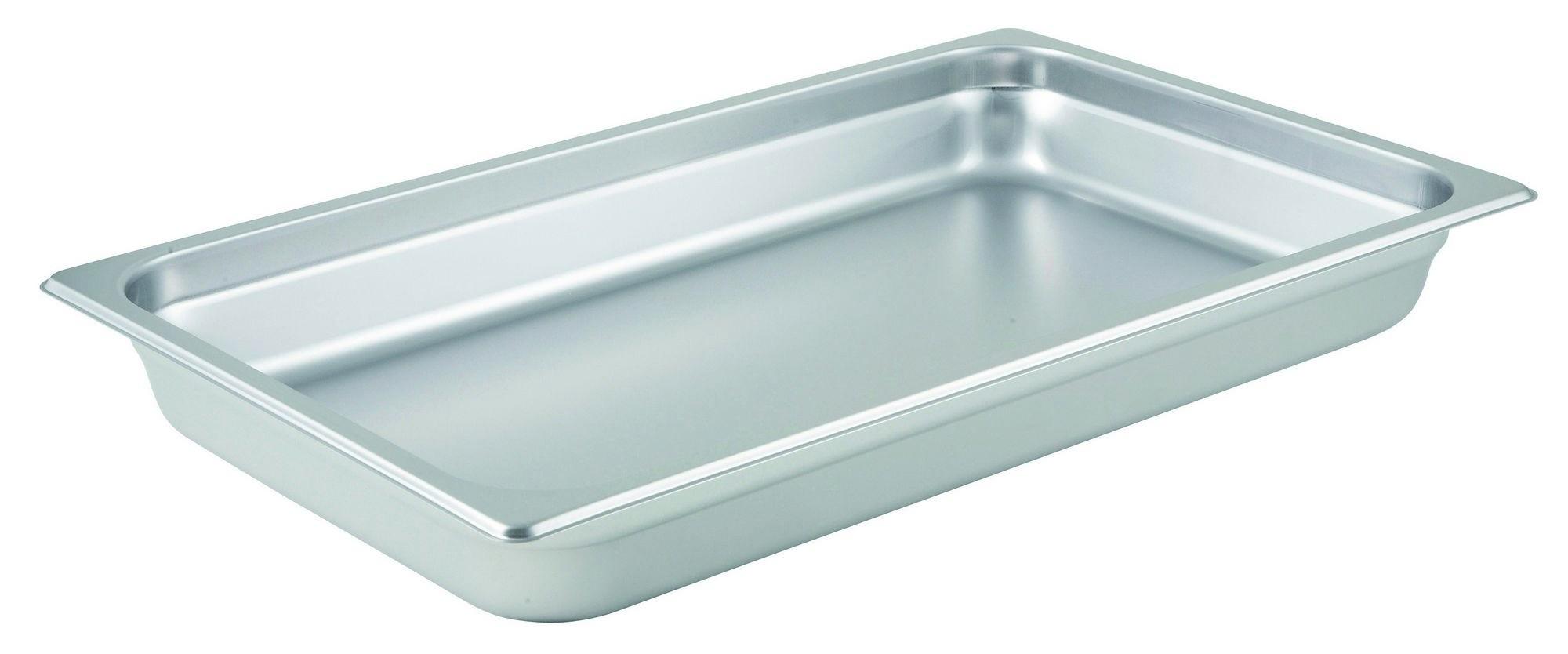 "Winco Spjl-102 Full Size Anti-Jam 25 Gauge Steam Table Pan 2-1/2"" Deep"
