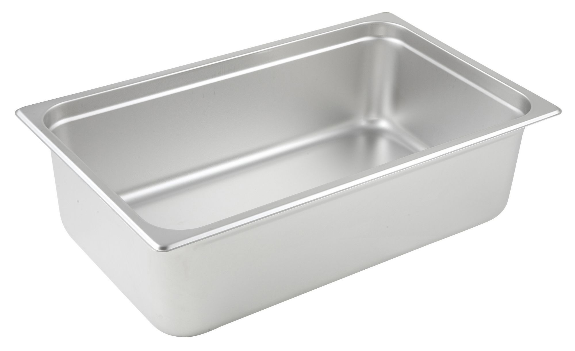 "Winco spjp-106 Full Size Anti-Jam 23 Gauge Steam Table Pan 6"" Deep"