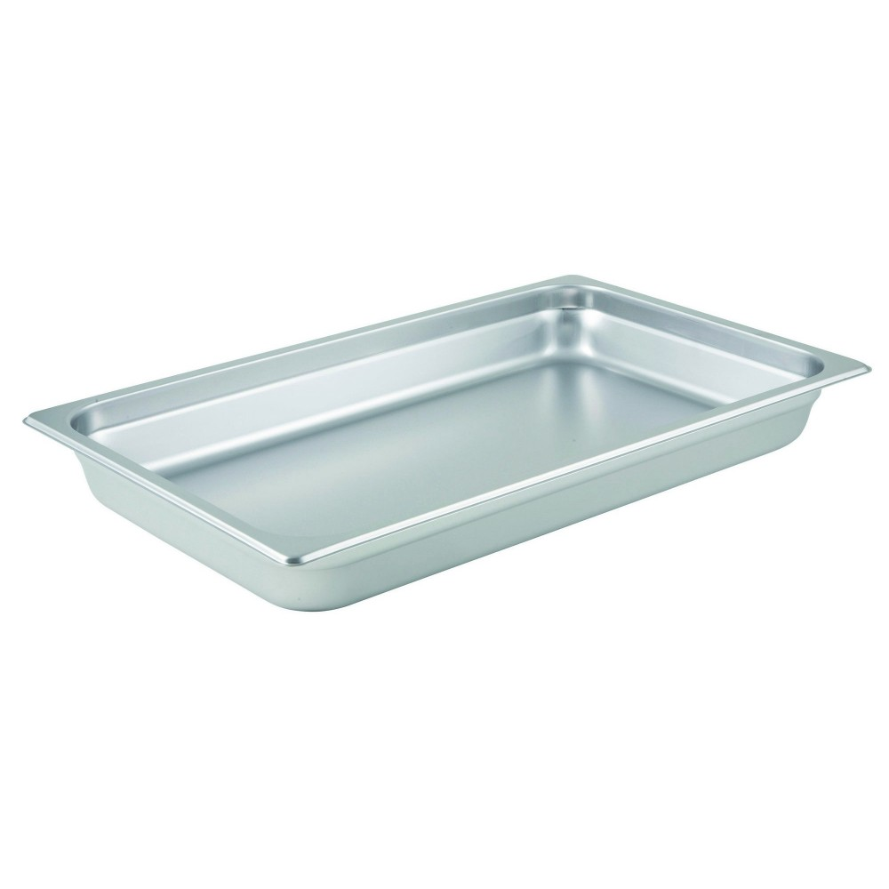 Winco Full Size Anti-Jamming Steam Table Pan (25 Gauge, 2.5