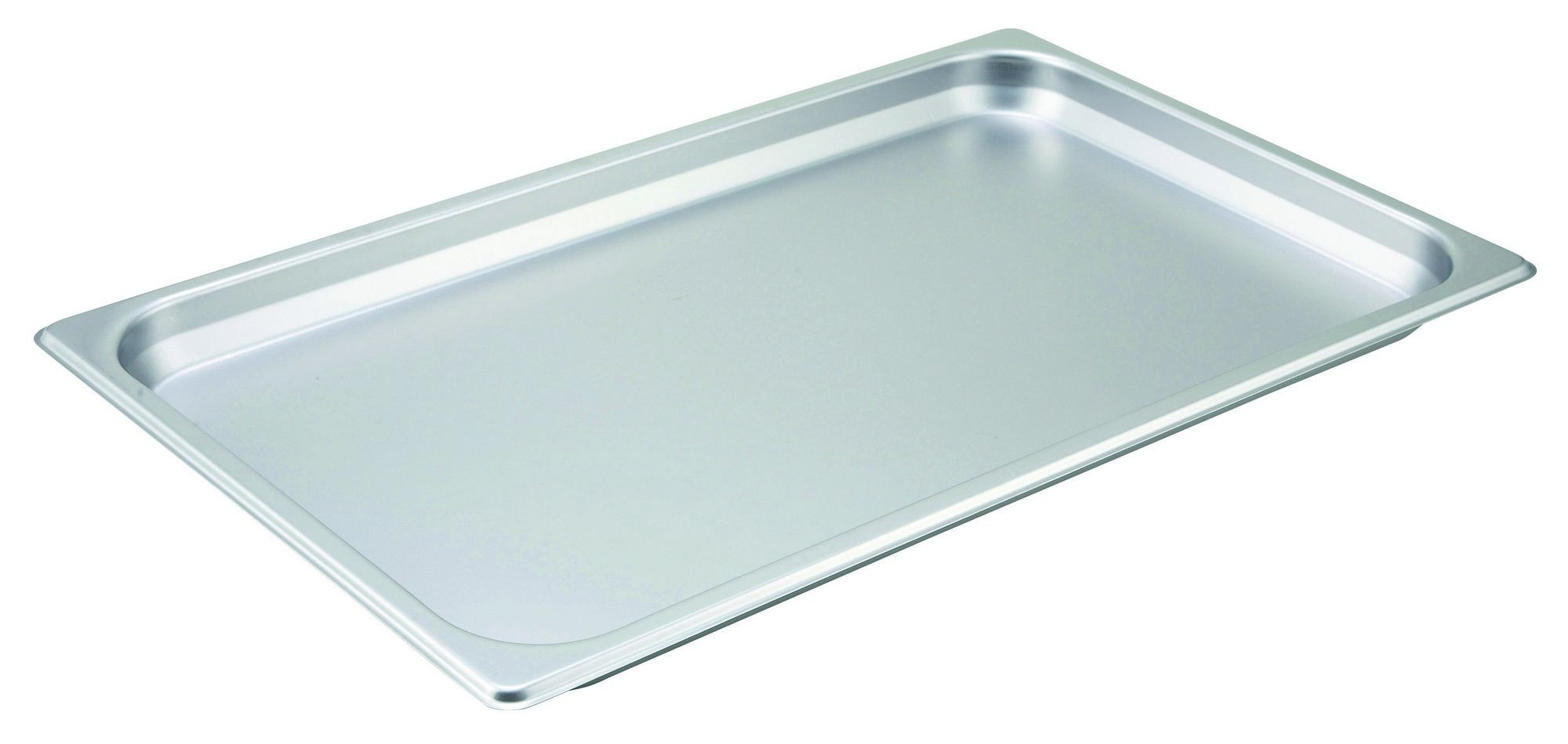"Winco SPF1 Full Size 25 Gauge Steam Table Pan 1-1/4"" Deep"