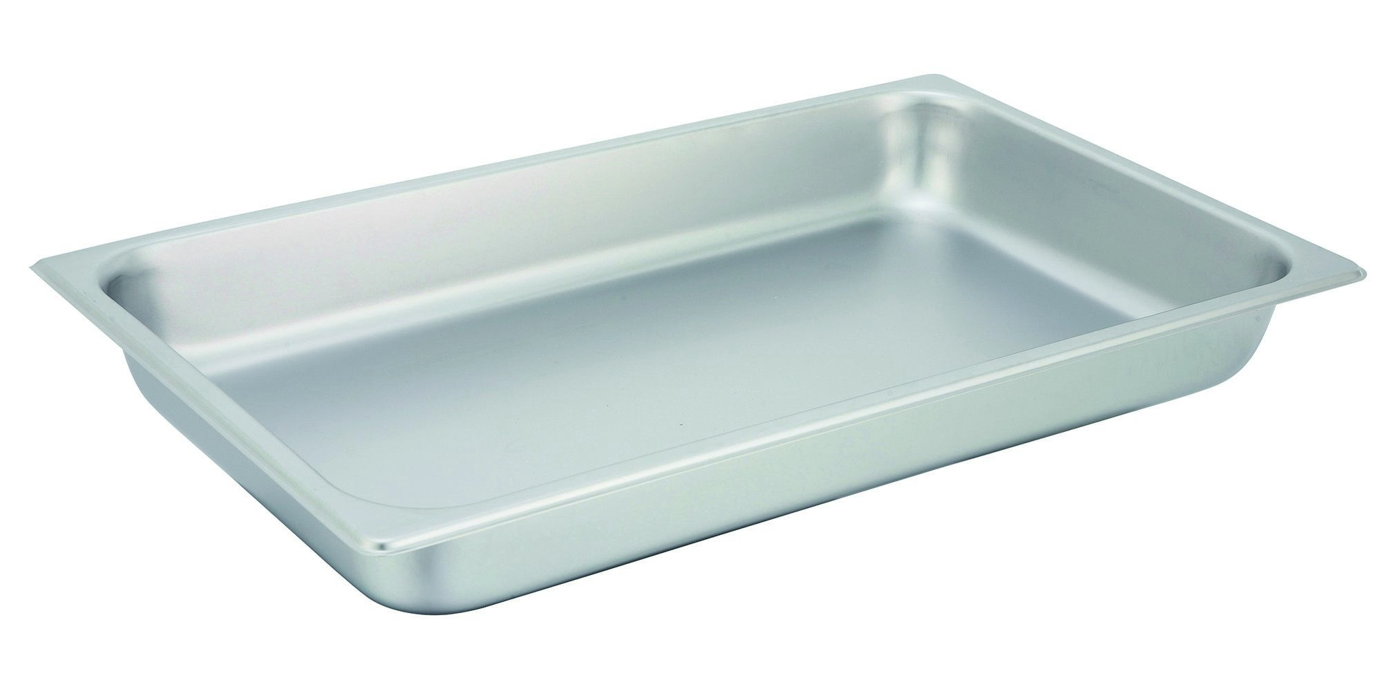 "Winco SPF2 Full Size 25 Gauge Steam Table Pan 2-1/2"" Deep"
