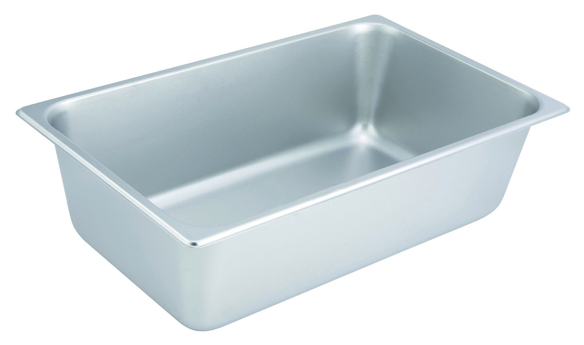 "Winco SPF6 Full Size Steam Table Pan, 25 Gauge, 6"" Deep"