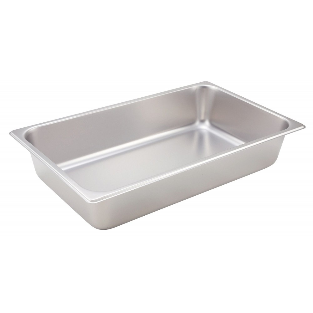 Winco Full Size Steam Table Pan (25 Gauge, 4