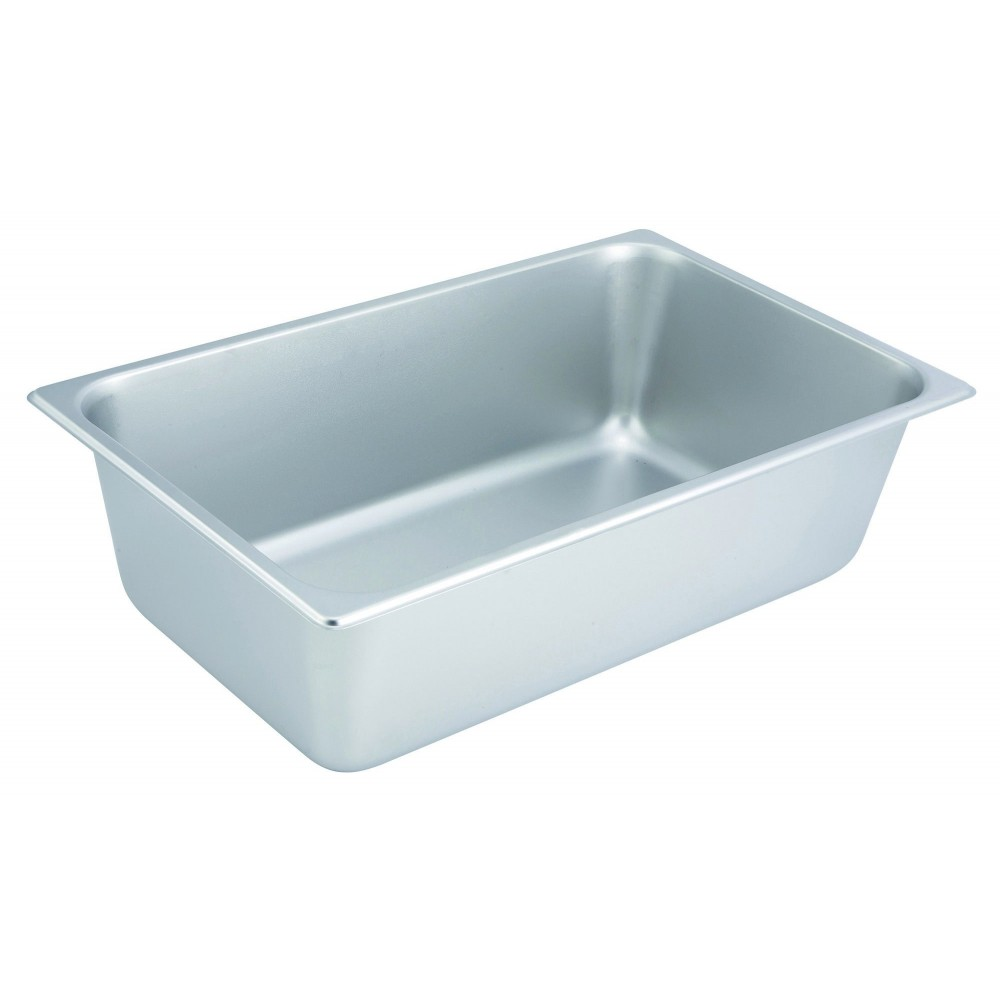 "Winco SPF6 Full Size 25 Gauge Steam Table Pan 6"" Deep"