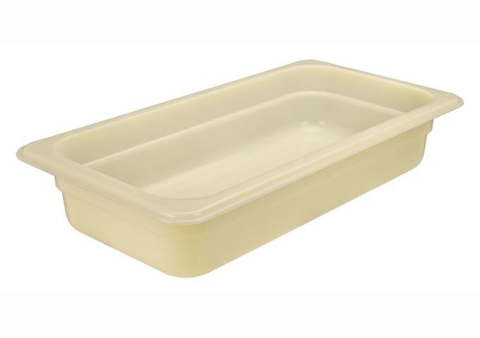 "Winco HHP104 High Heat Nylon Food Pan, Full Size 4"" Deep"