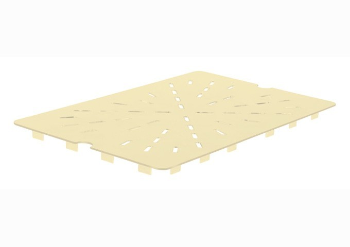 Winco HHP10DS High Heat Nylon Drain Shelf, Full Size