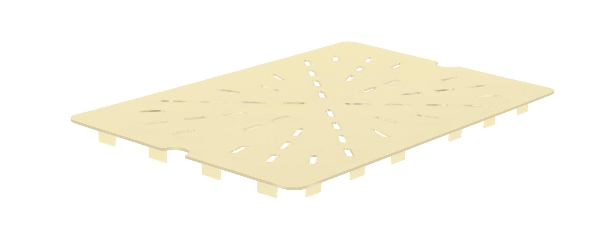 Winco HHP20DS High Heat Nylon Drain Shelf, Half Size