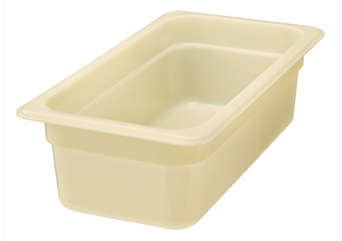 "Winco HHP604 High Heat Nylon Food Pan, Sixth Size 4"" Deep"