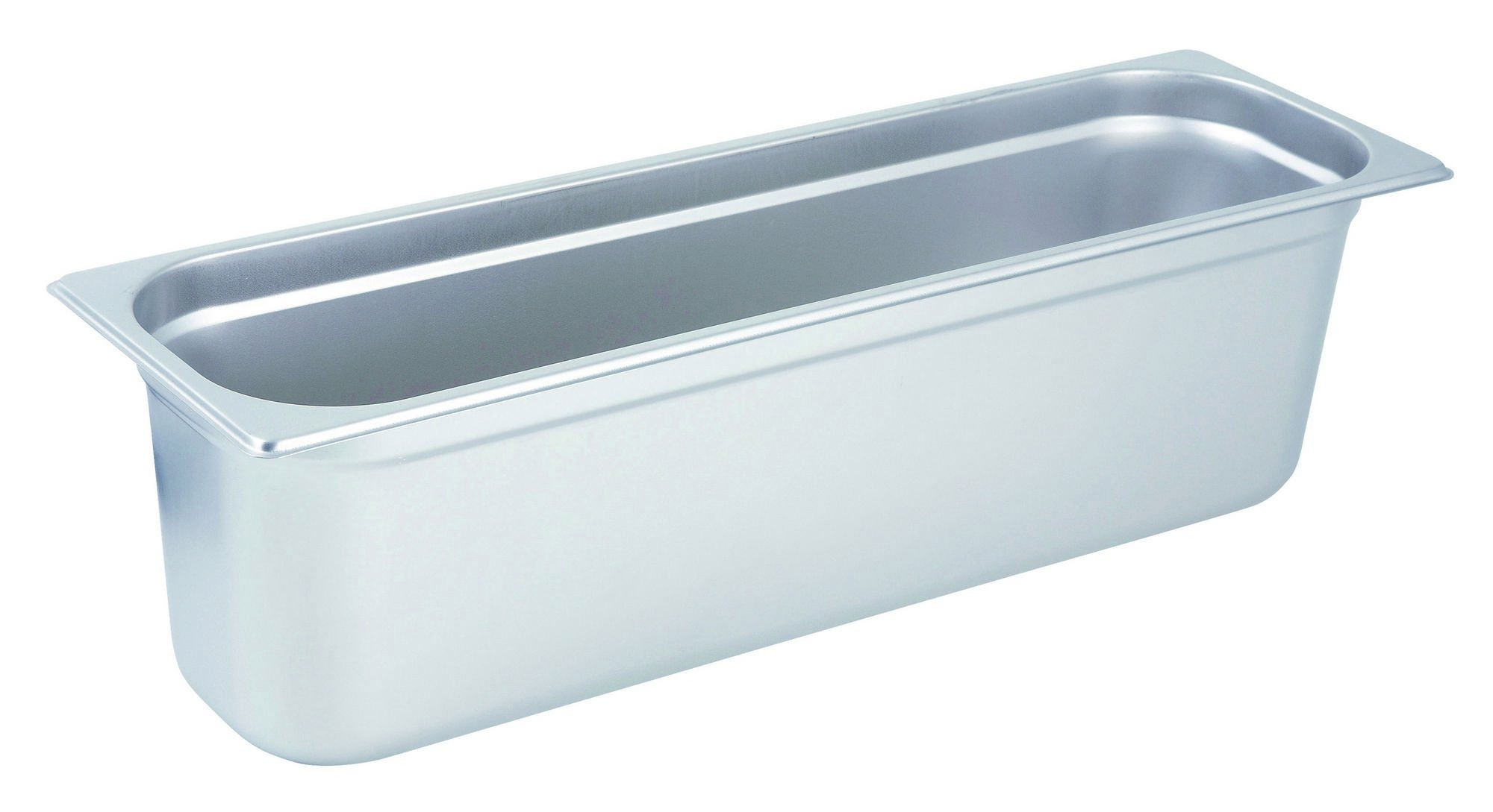 "Winco Spjl-6hl Half-Long Size Anti-Jam 25 Gauge Steam Table Pan 6"" Deep"