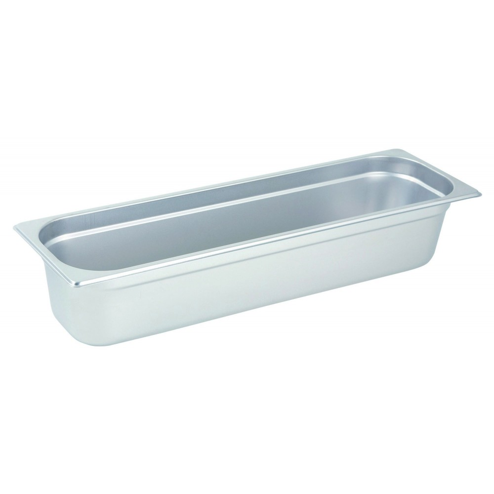 Winco Half-Long Size Anti-Jamming Steam Table Pan (4