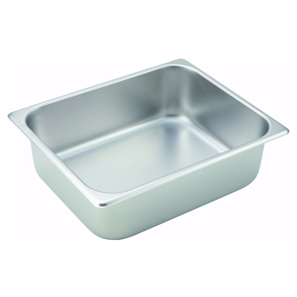 Winco Half Size Steam Table Pan (25 Gauge, 4