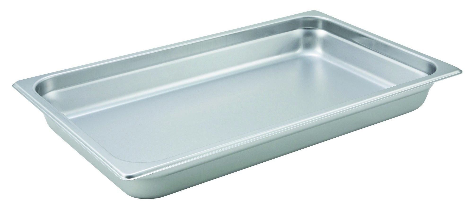 "Winco SPJH-102 Full Size Anti-Jam 22 Gauge Steam Table Pan 2-1/2"" Deep"