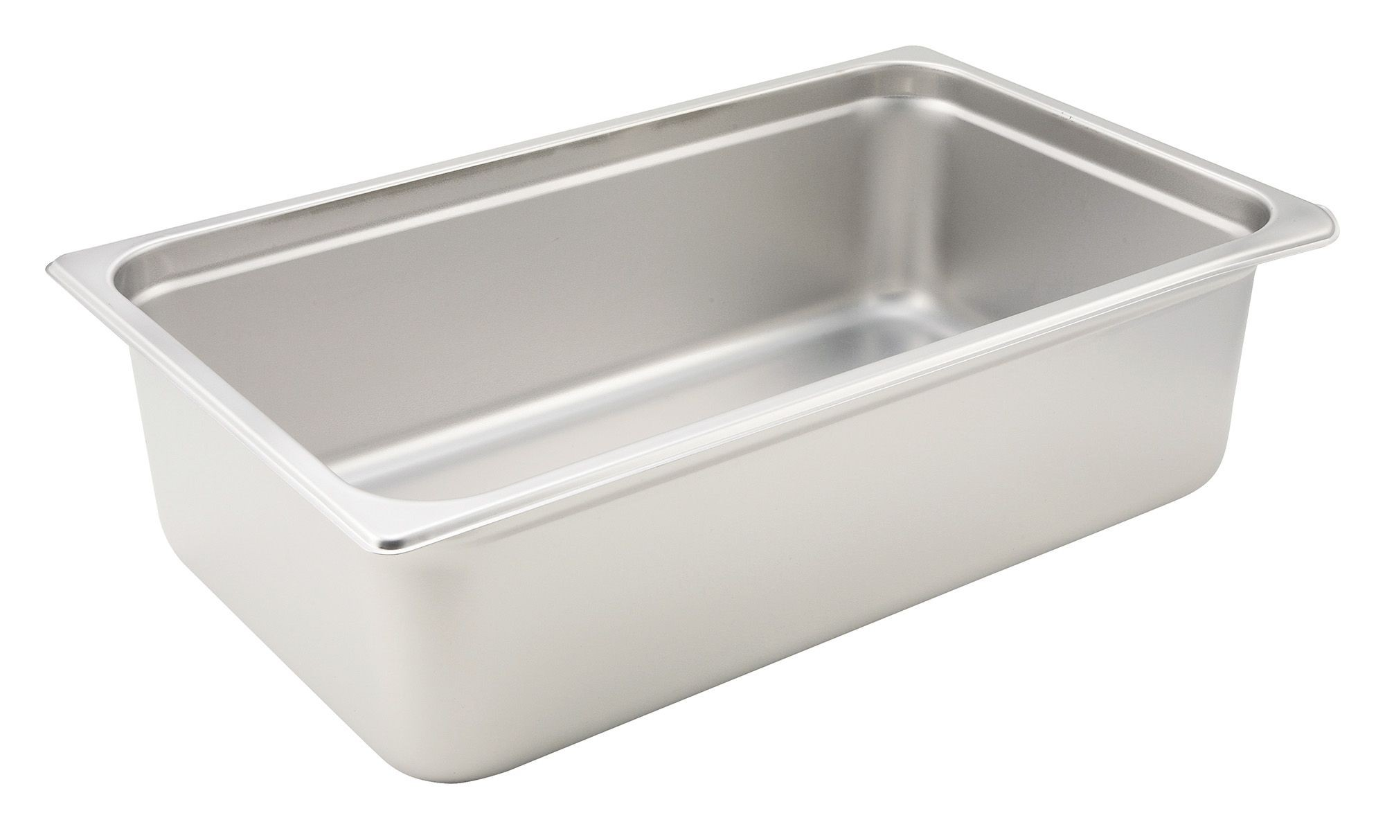 Winco Heavy Full Size Anti-Jamming Steam Table Pan (22 Gauge, 6