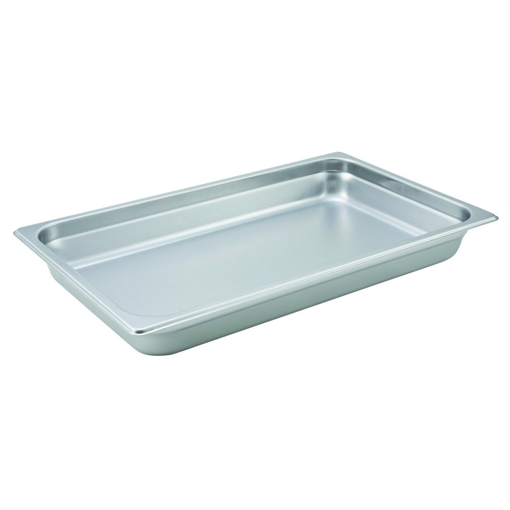 Winco Heavy Full Size Anti-Jamming Steam Table Pan (22 Gauge, 2.5
